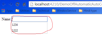 Off Automatic Autocomplete Functionality of Input Page in ASP NET