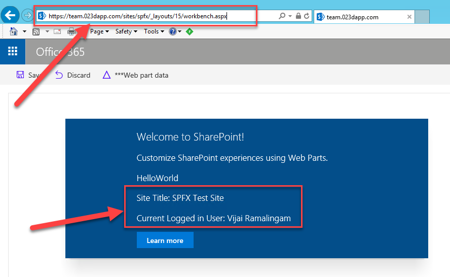 How To Connect Your Client-side Web Part To Access SharePoint
