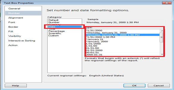 How to Format TextBox Value in SSRS