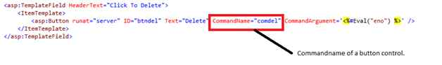 commandname in itemtemplate