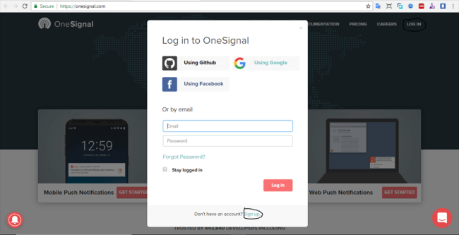 Integrate OneSignal Push Notifications Into An Ionic 3 Application