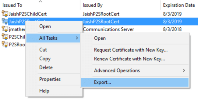 Secure Your Azure VPN Gateway with Self-signed Certificate
