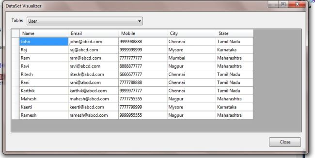 how to add multiple datatable to dataset in c#