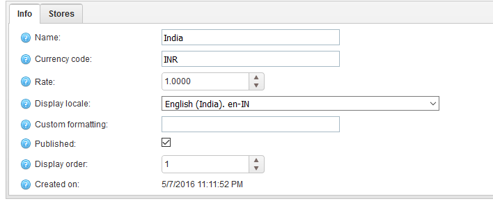 Currency Symbol In Nopcommerce