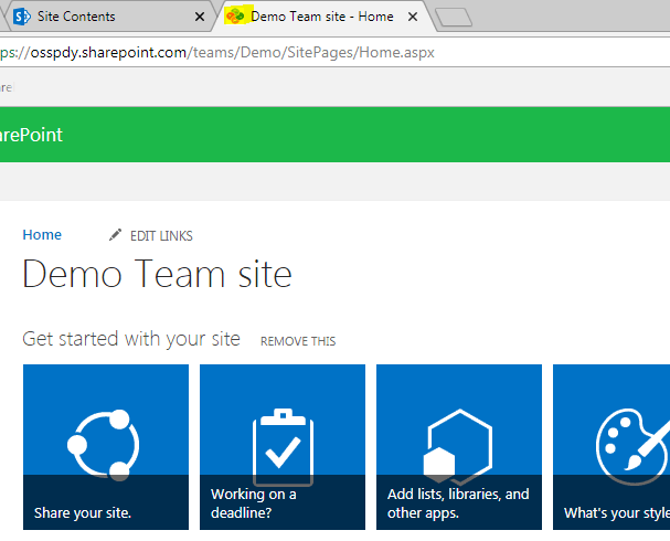 How To Change The Favicon In The SharePoint Online