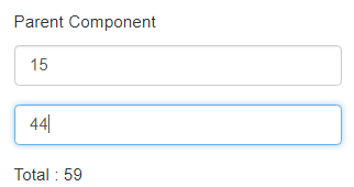 Update the Child Component and Parent Component using @Input & @Output in Angular