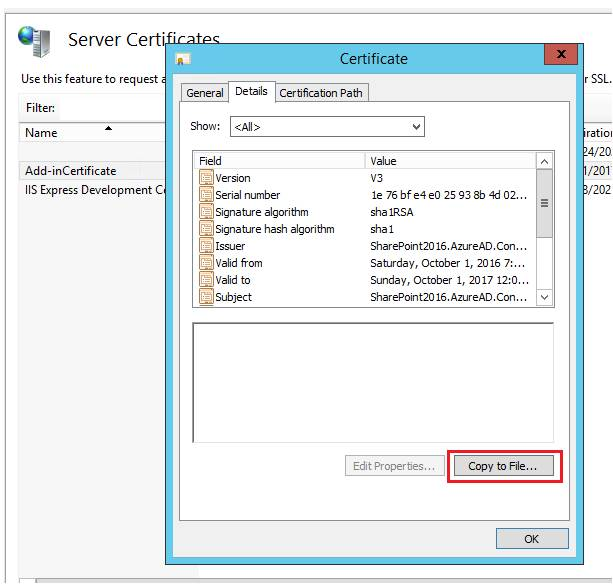 Create A Self-Signed Certificate For Use With Provider