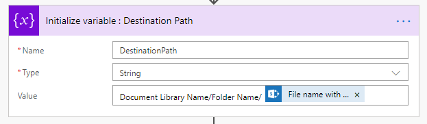 MS Flow - Copy File From One Library To Other Library Using REST API