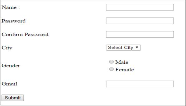 creating a simple registration form in asp net