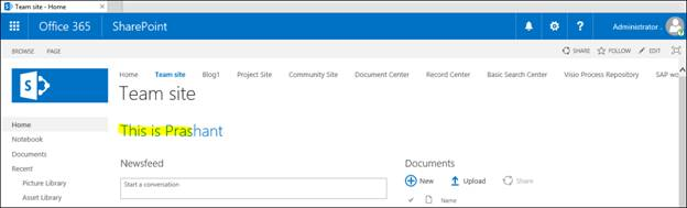 how to add html to sharepoint page