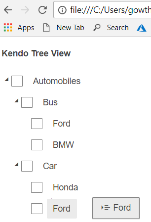 Drag And Drop In Kendo Tree View