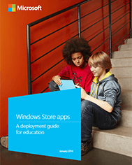 Windows Store apps: A deployment guide for education