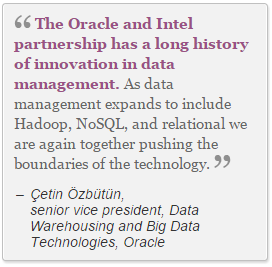 Oracle and Intel partner
