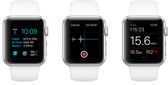 2 WatchOS, a Visual Journey to The New Version of The Operating System on Apple Watch