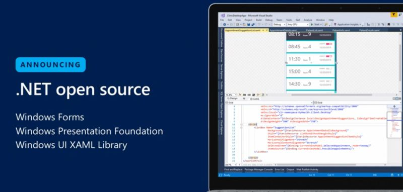 WPF Windows Forms Open Source