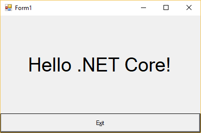 .NET Core 3 Preview 1