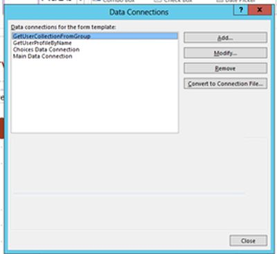 Convert to Connection file