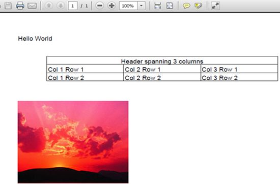 how to add images in a pdf