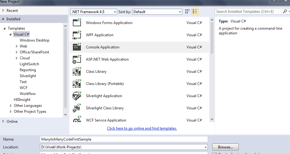 how to create a new nuget package in vb.net