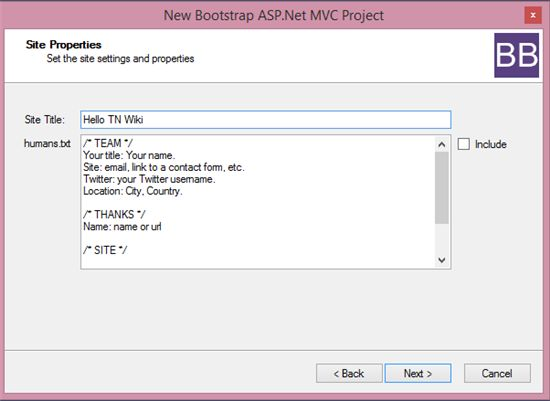 how to create a bootstrap bundle in mvc