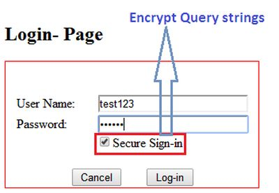 encrypt query strings