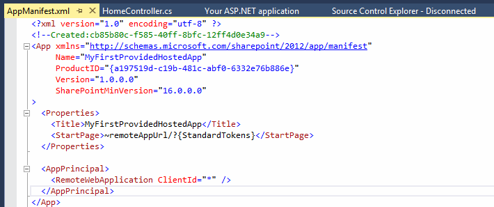 creating provider hosted app in office 365 and azure using vs 2013