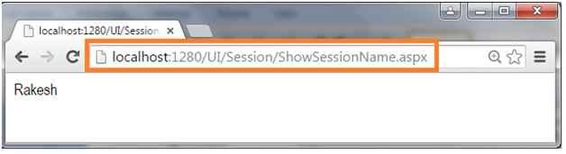 Display Session variable