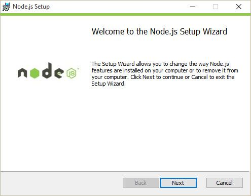 Installation of Node.js