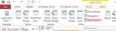 how to create switchboard in access 2013