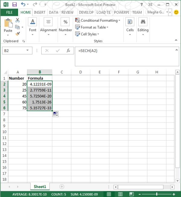 use-of-sech-function-in-excel2013.jpg