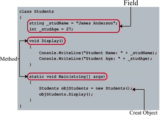 Field and Method in Class