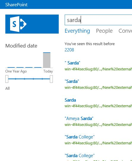 Error Log: Search Dynamics CRM 2015 Entities From SharePoint 2013