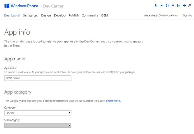 publishing windows phone applications on windows phone store
