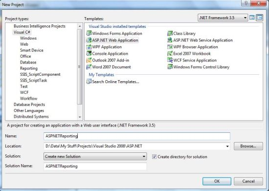 How To Generate Report From Sql Server Database Using Report Wizard