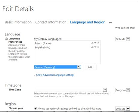 Multilingual User Interface (MUI) in SharePoint 2013 Online