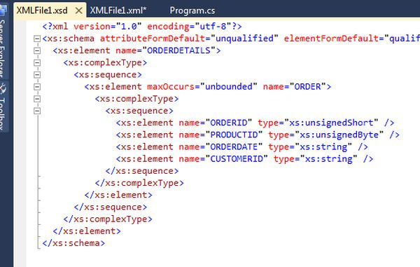 Validating xml c# tutorial