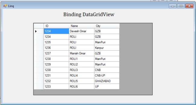 Binding with Generic List