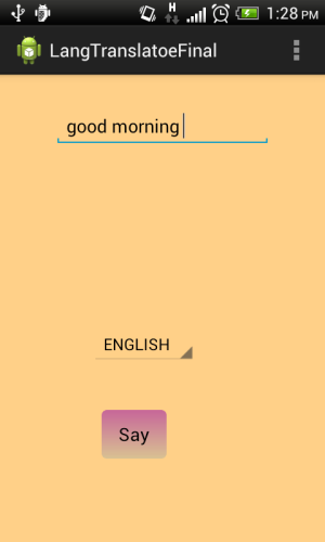 English To Italian Translator Google: Language Translator And Text-To-Speech In Android