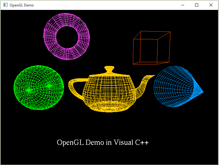 Getting Started With Opengl In Visual C
