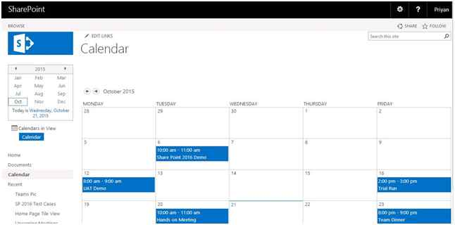 Weekly Calendar View Sharepoint : Hide weekends in sharepoint calendar view