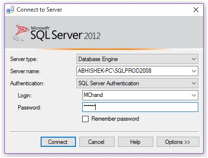Implementing Access Controls on SQL Server Data