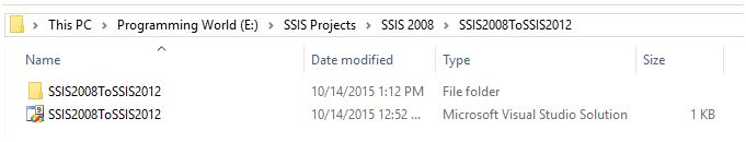 SSIS 2008 package