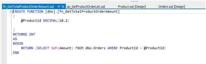 Create a sample Function