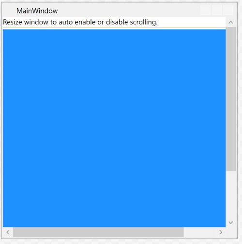 WPF ScrollViewer Enable