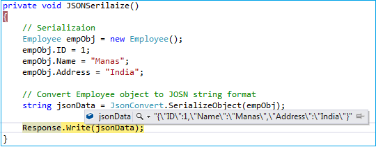 convert string to json object in java