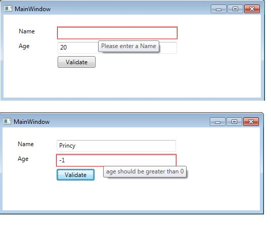 Validating user input in windows forms vs wpf