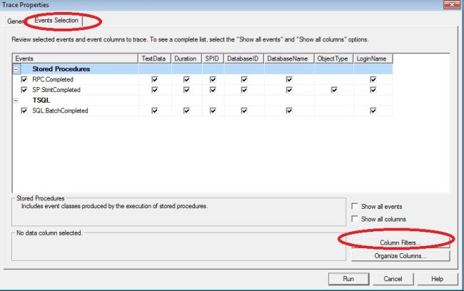 how to use sql server profiler and tuning advisor