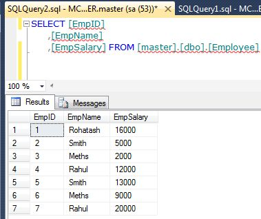 Updating data from one table to another in sql server