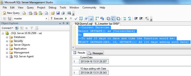 how to use dateadd in sql