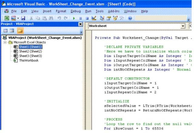 excle-dropdownlist-change-events-using-vba Vba Worksheet Change Target Range on code add, clear all condition for, userform display, hide all, working different, looking up values across different,